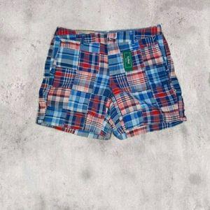 LL Bean Plaid Shorts